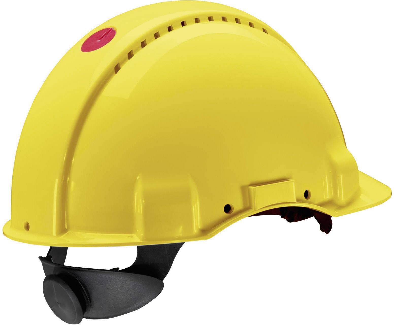 Ochranná prilba Peltor 3M 7000009701, žltá