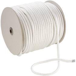 Polyesterové lano 20209, (Ø x d) 4 mm x 100 m, biela