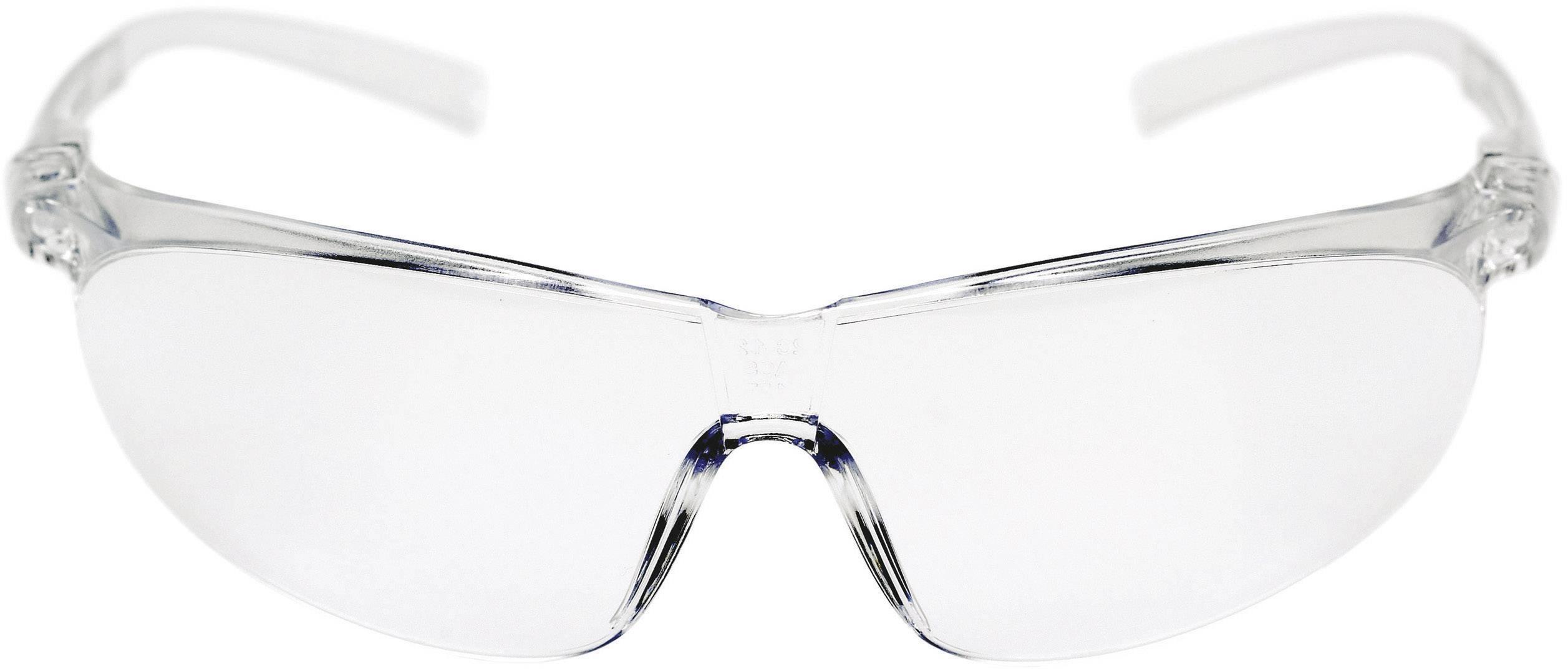 Ochranné okuliare 3M Tora, číre