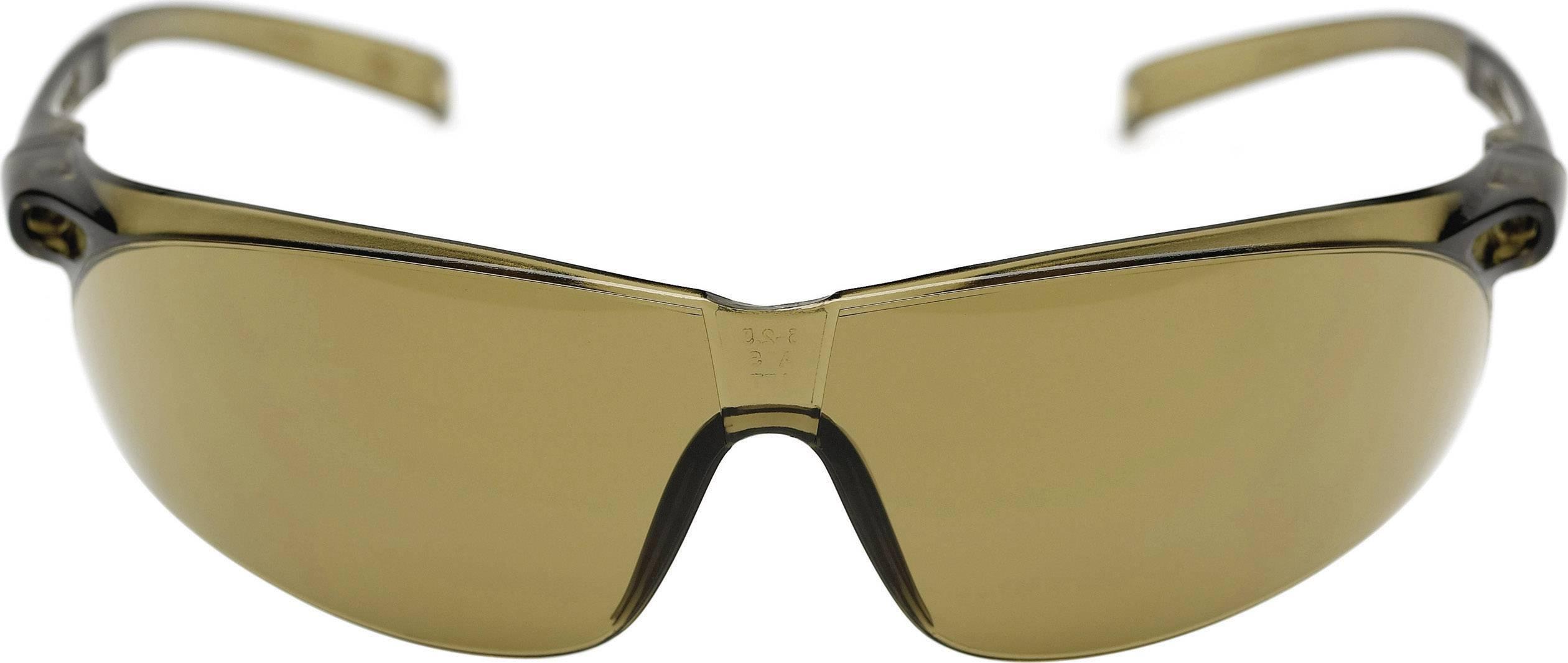 Ochranné okuliare 3M Tora, bronzové