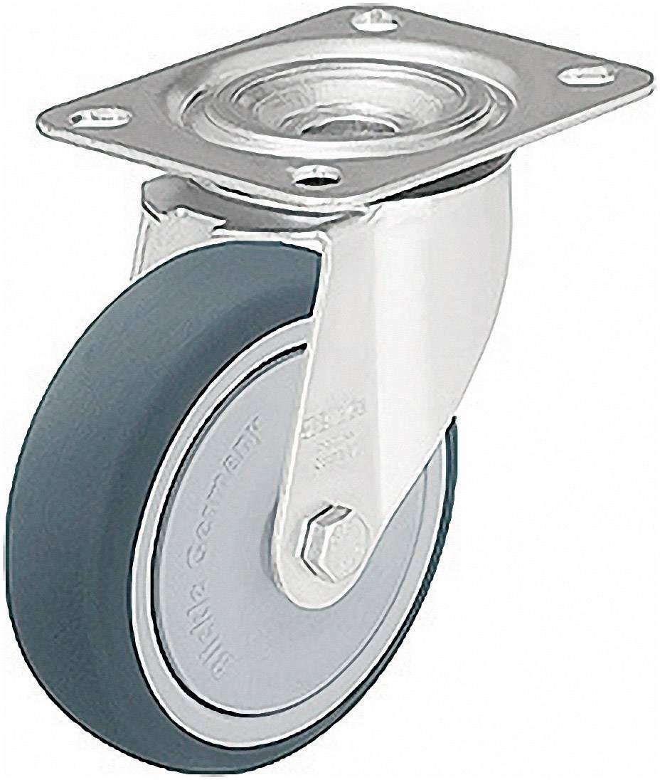 Polyuretanové otočné kolečko s konstrukční deskou, Ø 100 mm, Blickle LE-PATH 100K-FK