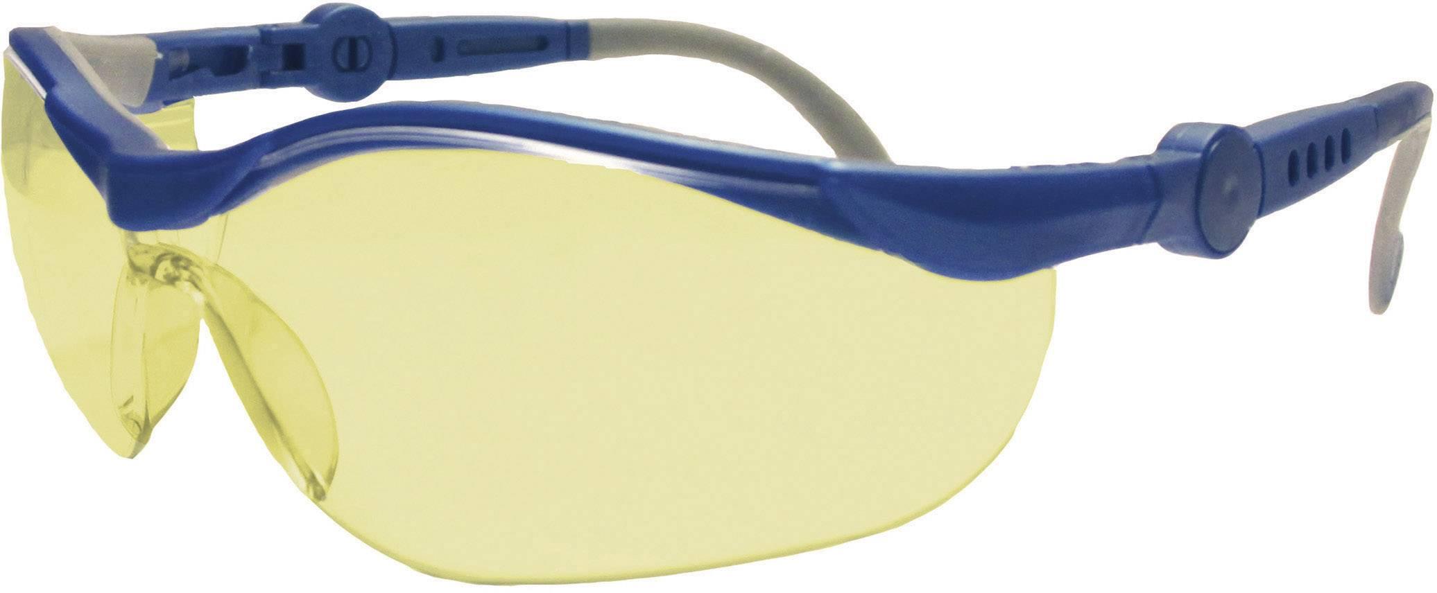 Ochranné okuliare Upixx Cycle Ergonomic, žlté