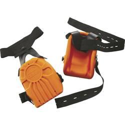 L+D Upixx 2484 Chrániče kolen Ergo z PU pěny v oranžová oranžová