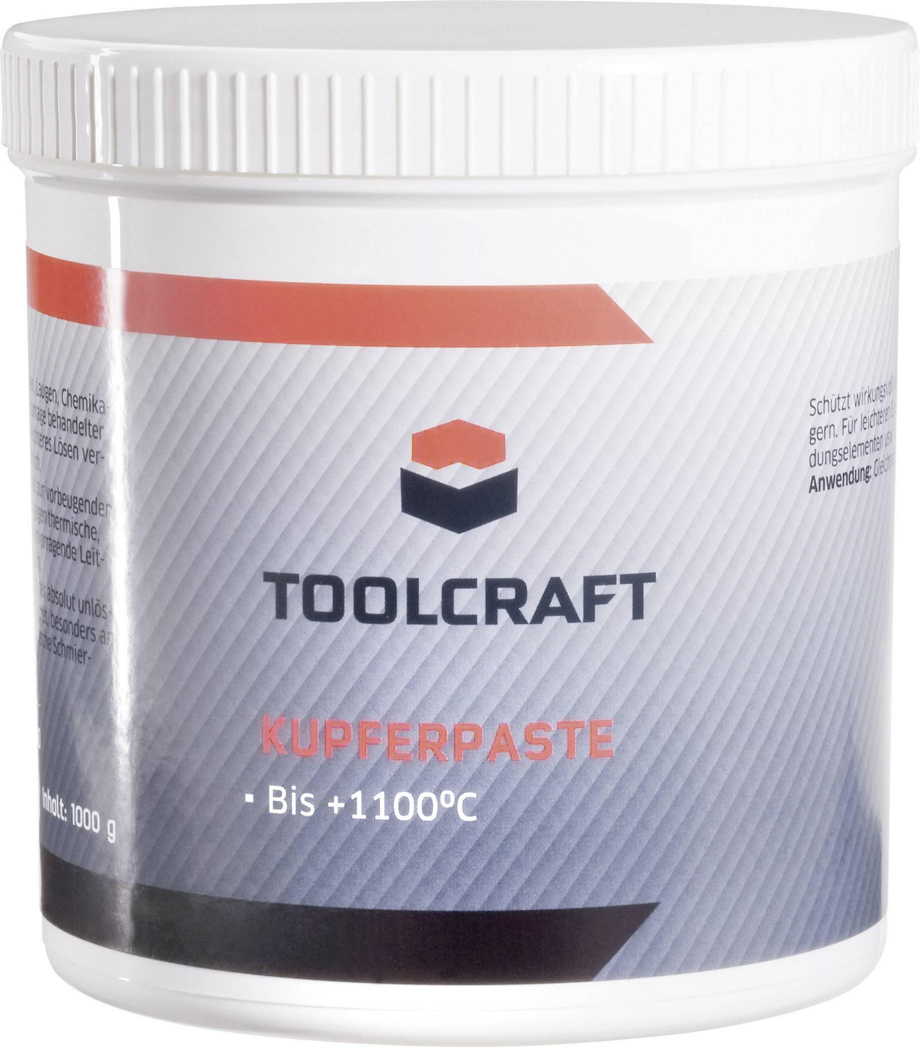 Medená pasta TOOLCRAFT KUP.D1000, 1 kg