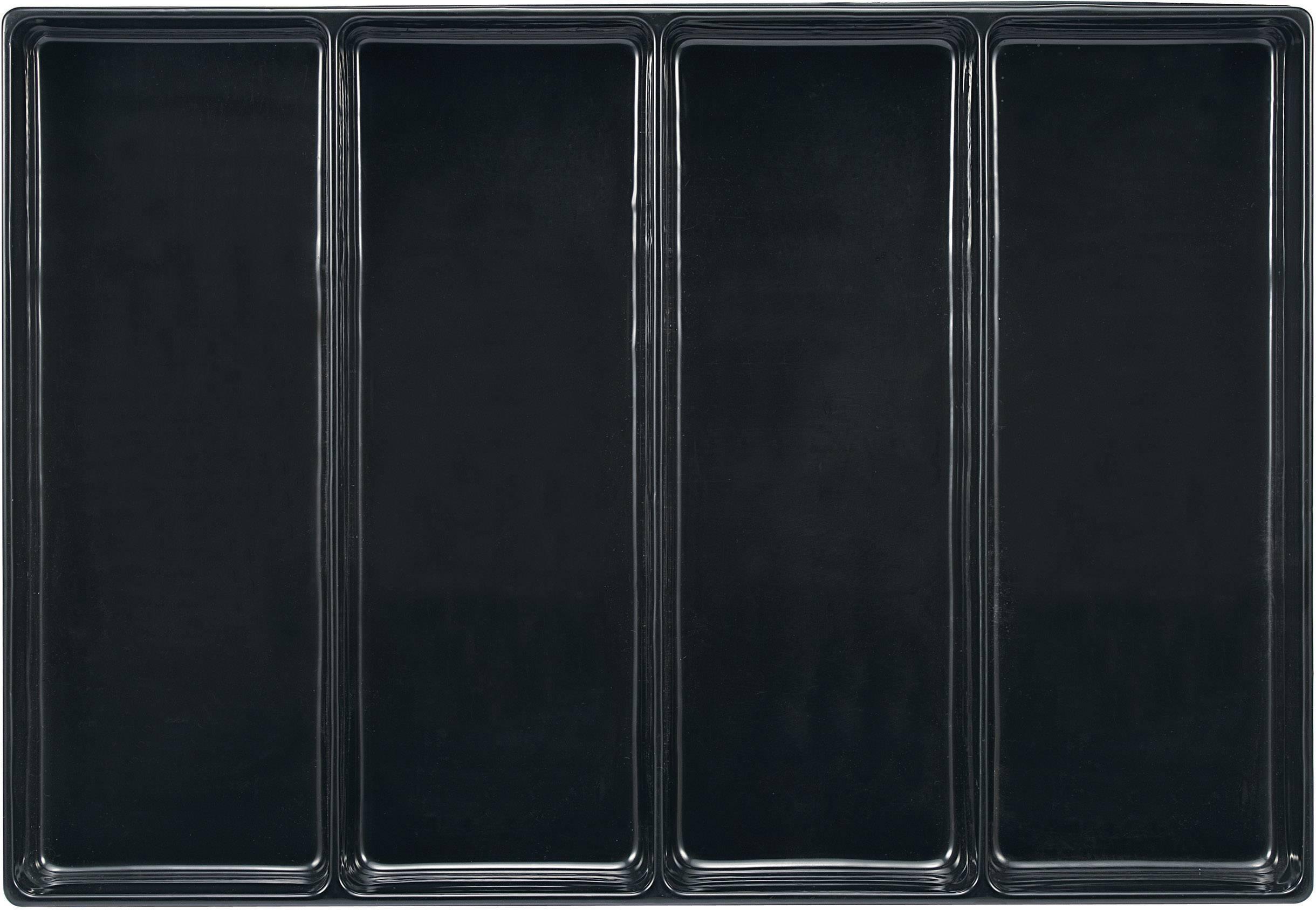 Zásuvky s 4 přihrádkami TOOLCRAFT 96029C701, rozměry:(d x š x v) 570 x 392 x 50 mm