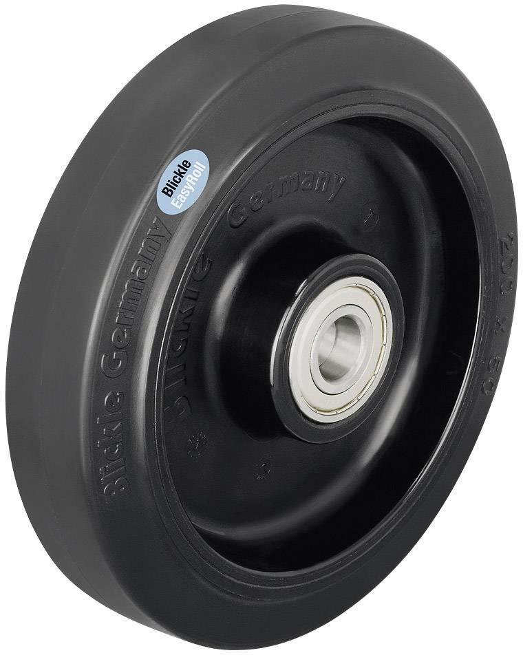 Tvrdé gumové kolečko, Ø 200 mm, Blickle 42952, POEV 200/20R