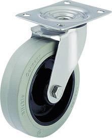 Otočné kolečko s konstrukční deskou, Ø 125 mm, Blickle 583104, LEX-POEV 125KD-SG