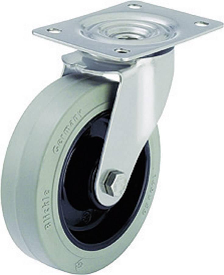Otočné kolečko s konstrukční deskou, Ø 80 mm, Blickle 611061