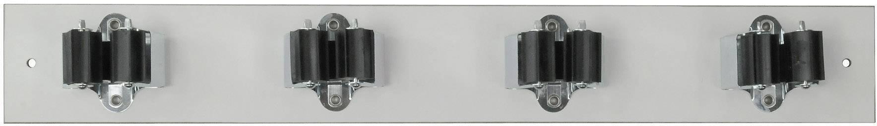 Lišta s držáky Prax 4-25W, Ø 25 mm, 440 x 60 mm