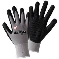 Pracovní rukavice L+D worky NITRIL GRID 1167, velikost rukavic: 9, L