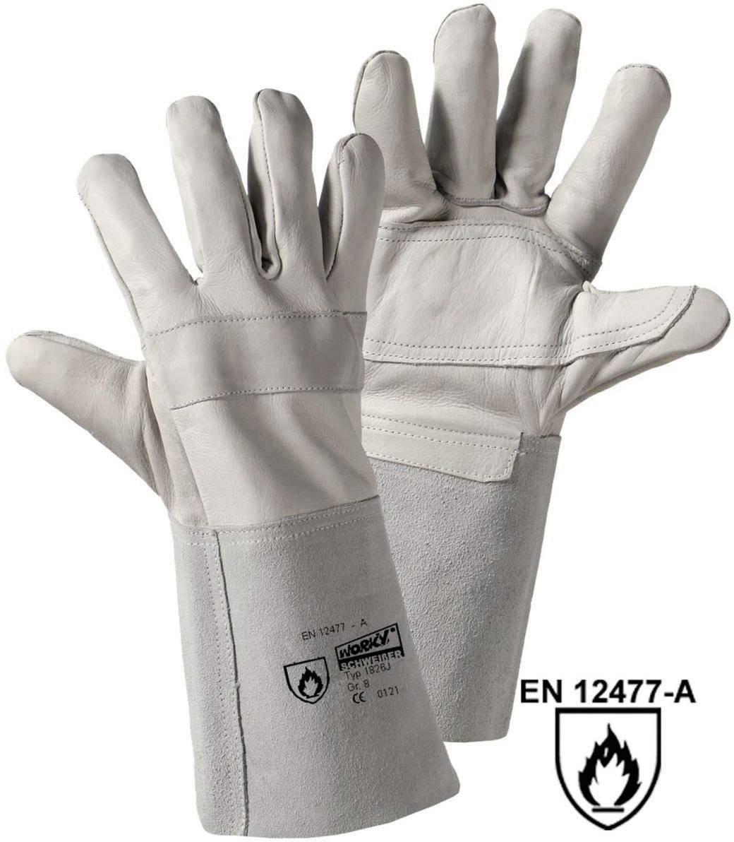 Svářečské rukavice L+D worky RAZZO-jnr. 1826J, velikost rukavic: 8, M