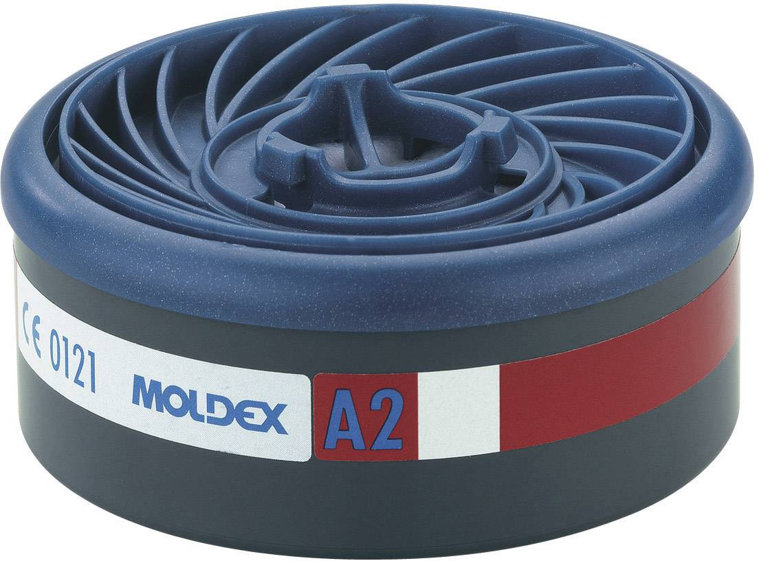 Plynový filtr EasyLock® Moldex EasyLock Gas 920001, A2, 8 ks