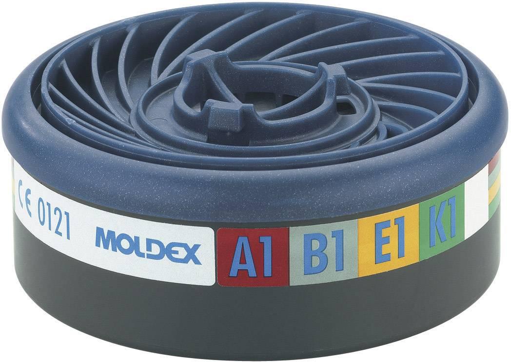 Filter pre ochannú plynovú masku Moldex EasyLock Gas 940001, 10 ks