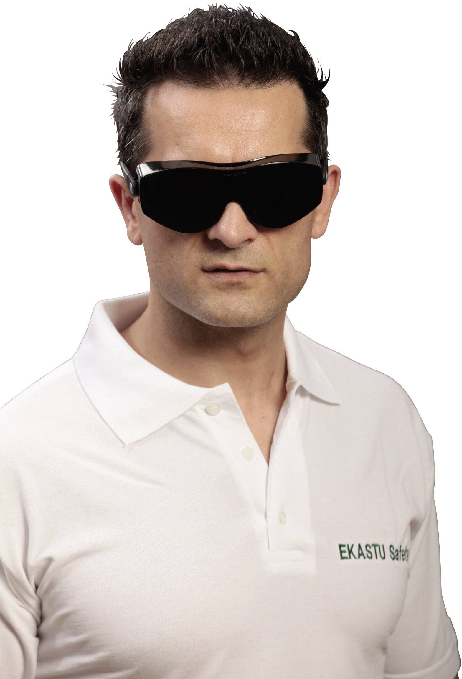 Ochranné okuliare Ekastu Sekur Safety Carina Klein Design 12799, zelené