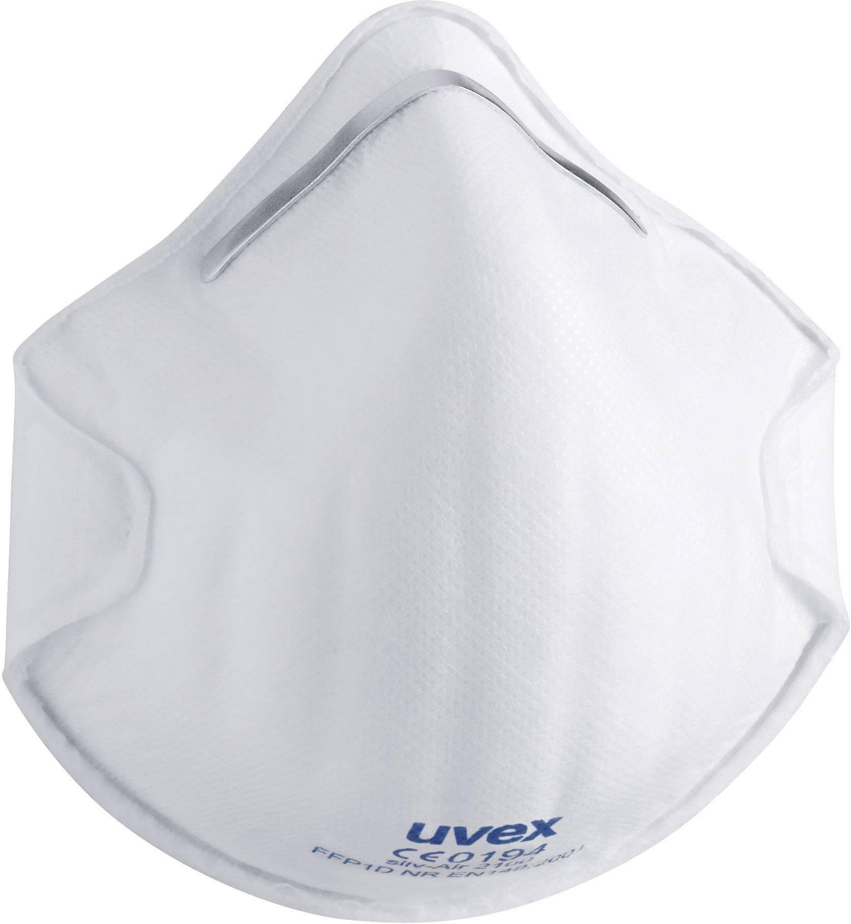 Respirátor proti jemnému prachu Uvex 8732100, 20 ks