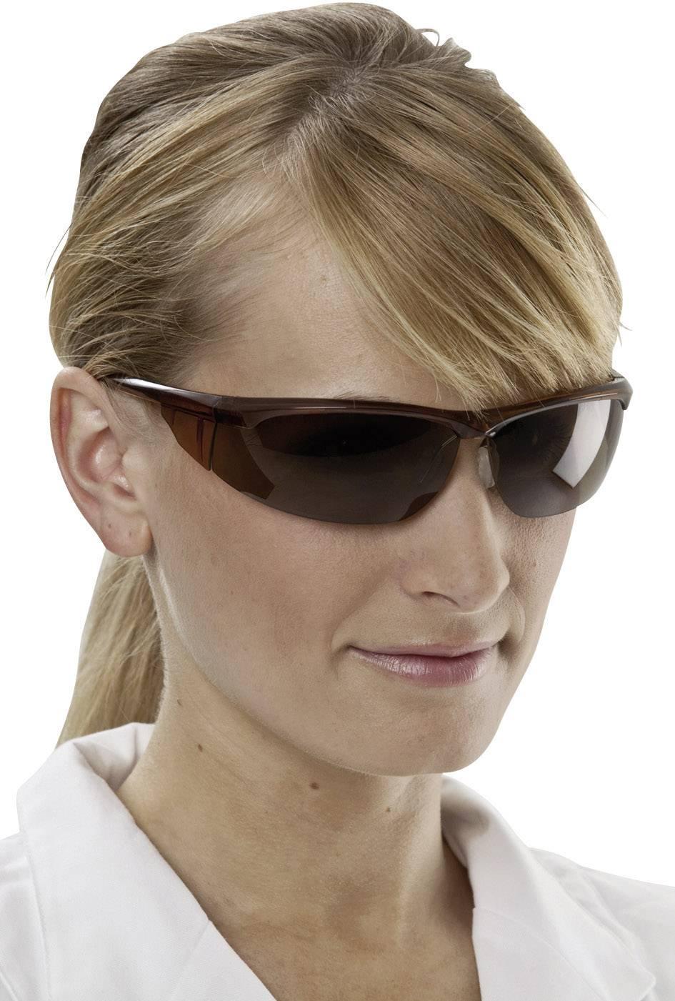 Ochranné okuliare 3M Refine 300, bronzové
