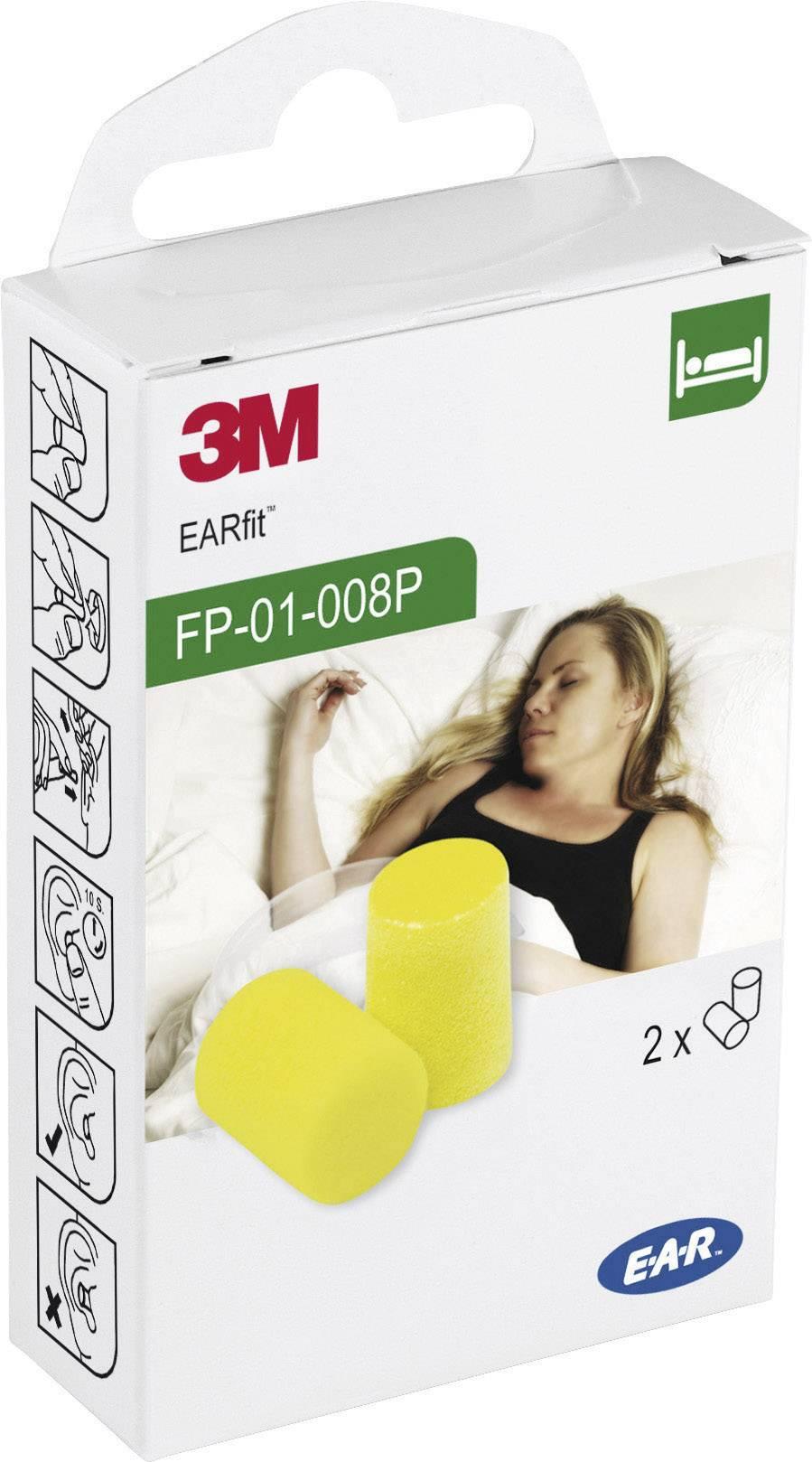 Špunty do uší 3M E-A-R Classic FP01008A, 28 dB, 2 pár