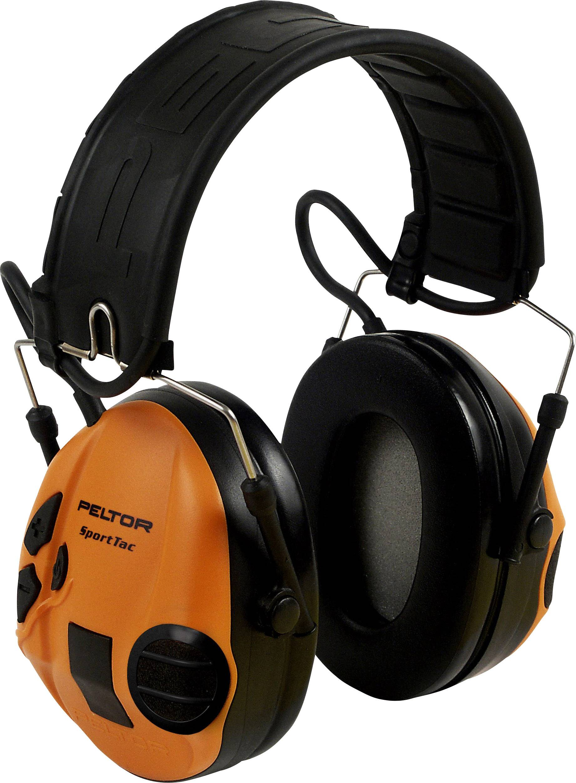 Mušlový chránič sluchu proti impulzním zvukům Peltor SportTac STAC-GN, 26 dB, 1 ks