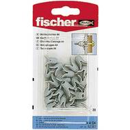 Hmoždinka do dutin Fischer A 4 GK 52307, 20 ks