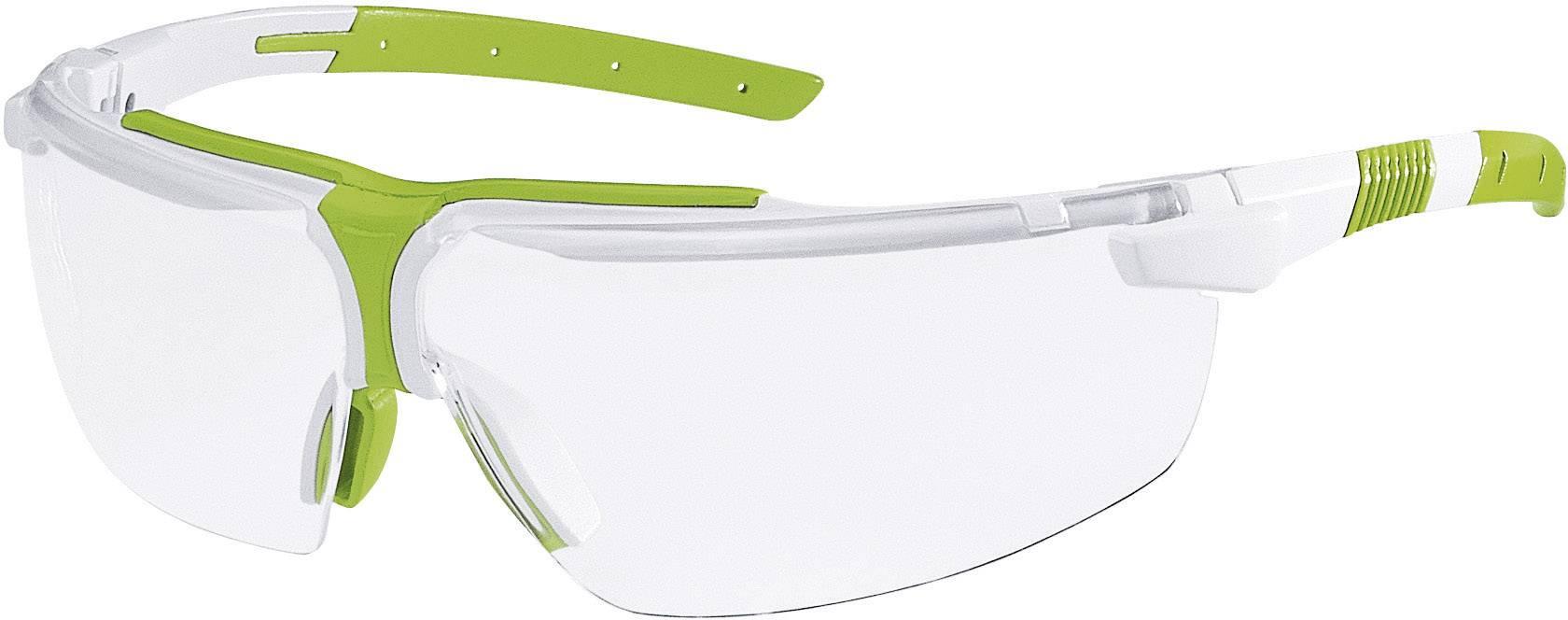 Ochranné okuliare Uvex I-3, zelené/biele