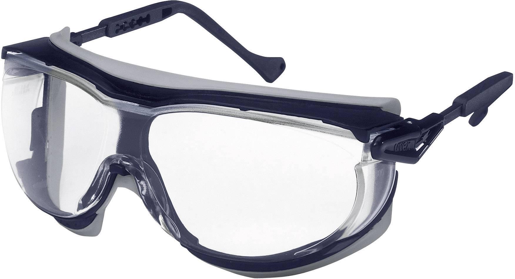 Ochranné okuliare Uvex Skyguard, modré/sivé