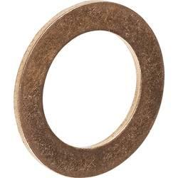 Těsnící kroužek Toolcraft, měděný, DIN 7603, vnitřní Ø 12 mm, vnější Ø 18 mm, 100 ks