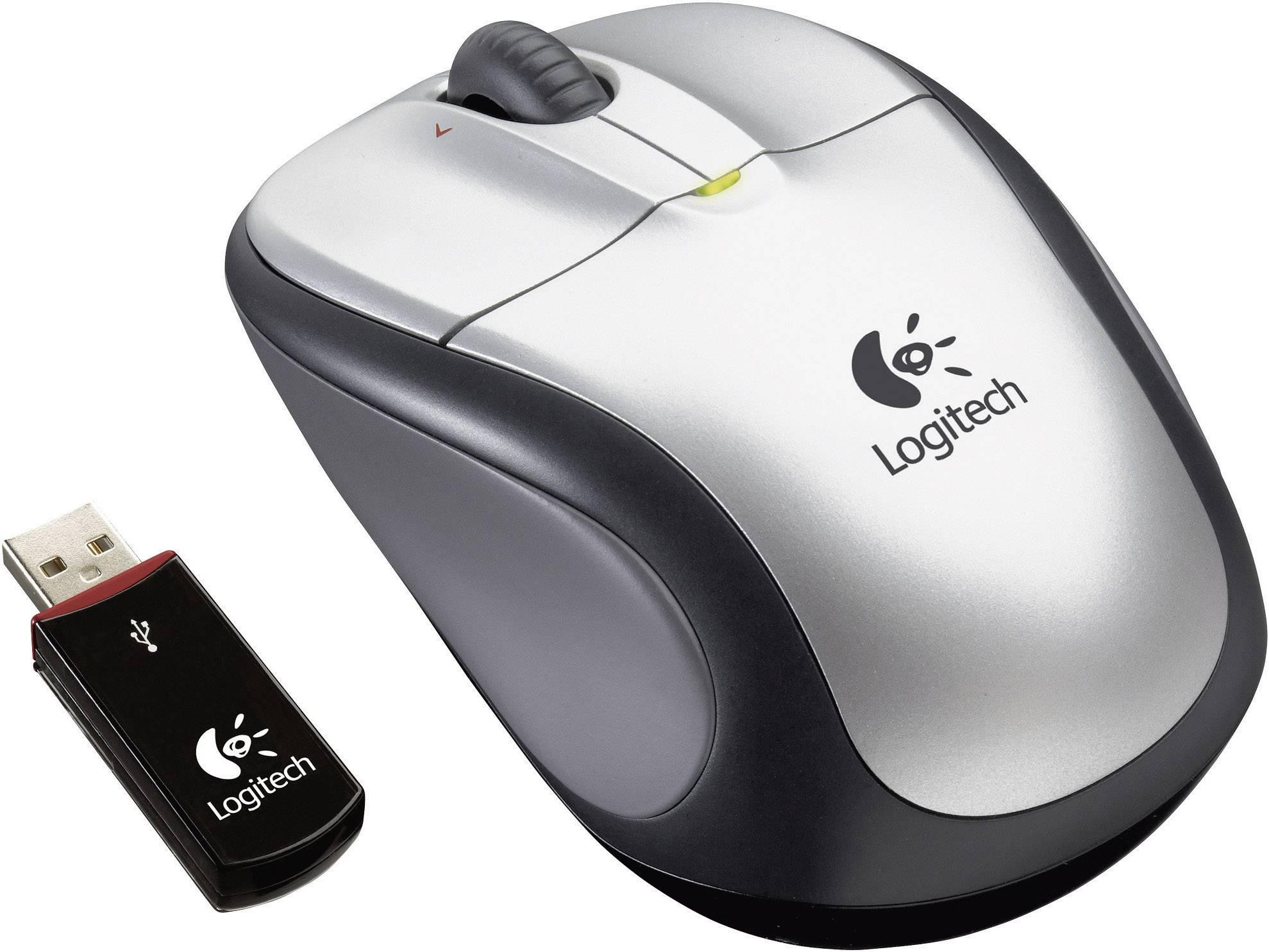 Myši k notebookom, bezdrôtové