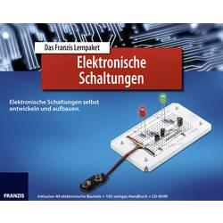 Základy elektronických obvodů Franzis Verlag, něm. průvodce vč. součástek, od 14 let