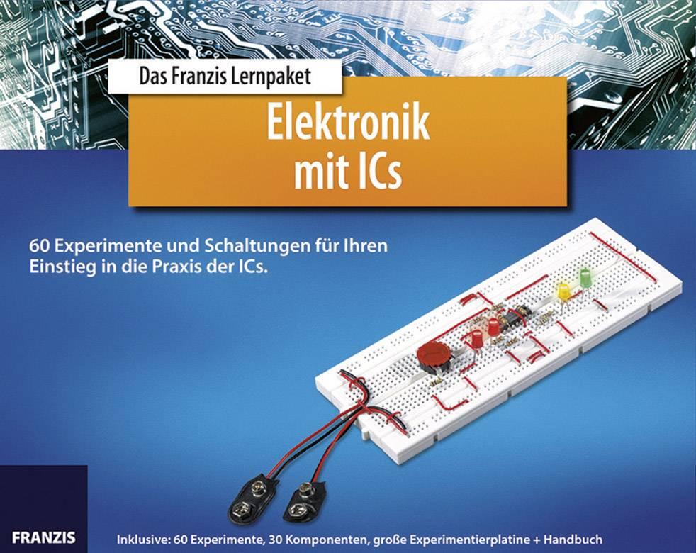 Svět integrovaných obvodů v kostce Franzis Verlag, něm. průvodce vč. součástek, od 14 let