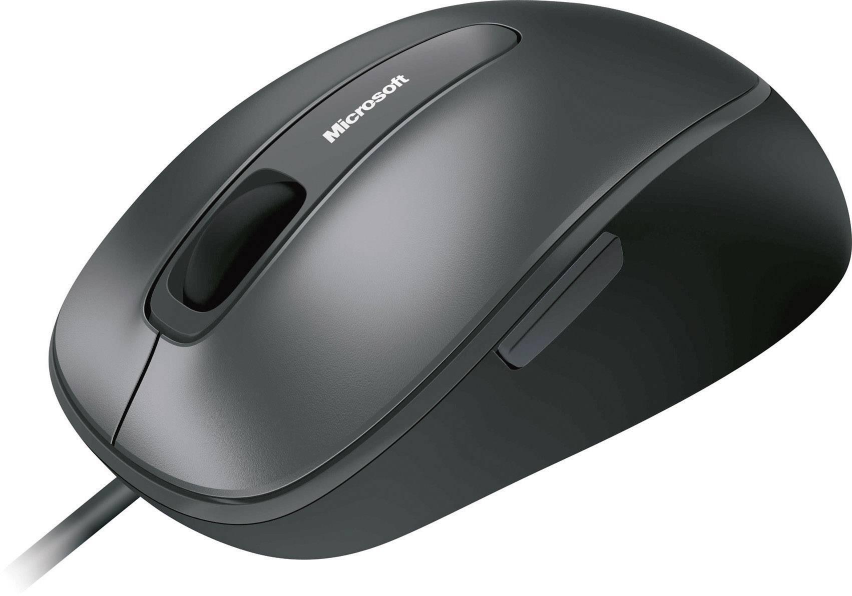 Optická USB myš Microsoft Comfort Mouse 4500 4FD-00023, čierna