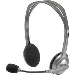 Headset k PC Logitech H110, šedá