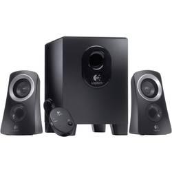 PC reproduktory Logitech Speaker System Z313, kabelový, 25 W, černá