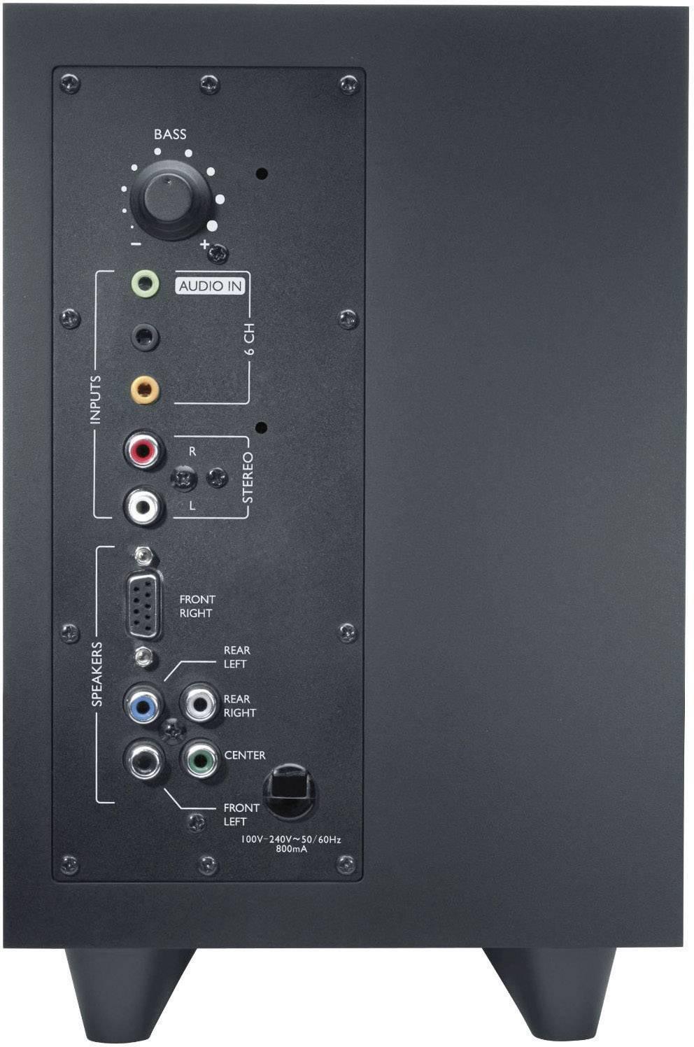 PC reproduktory Logitech Z506, káblový, 75 W, čierna