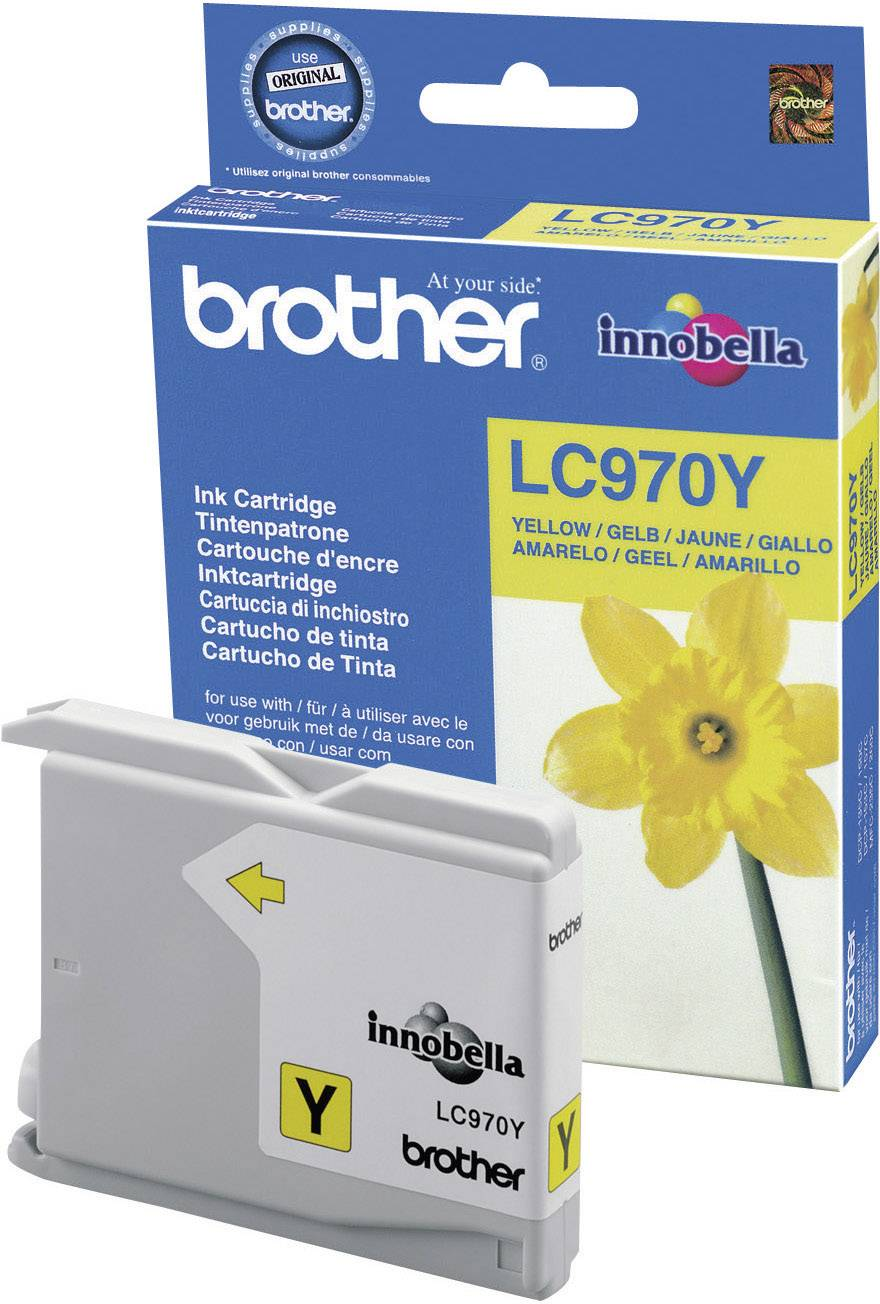 Náplň do tlačiarne Brother LC-970Y LC970Y, žltá