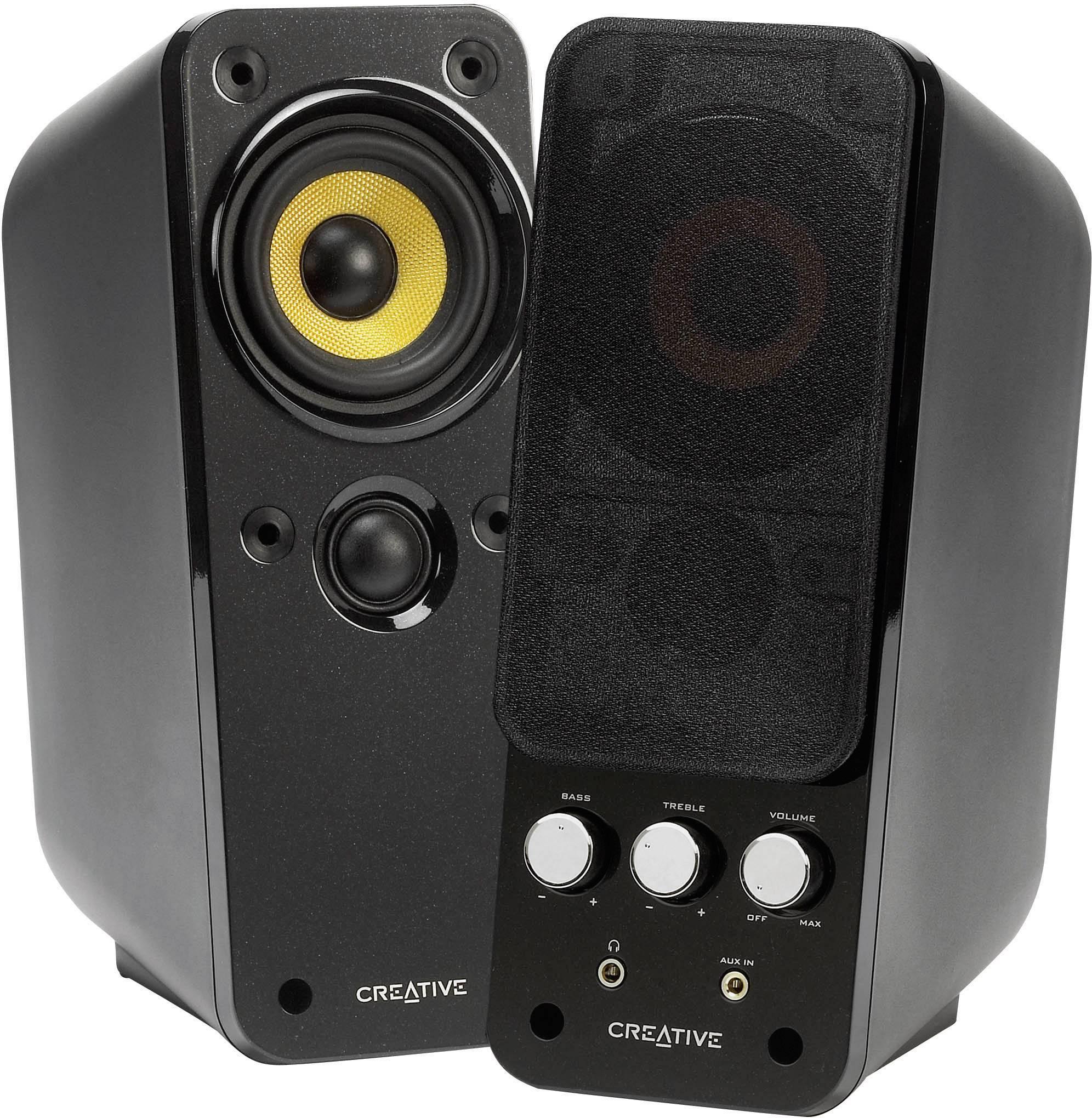 PC reproduktory Creative GigaWorks™ T20 Serie II, káblový, 28 W, čierna