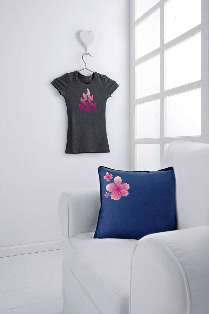 Zažehlovací folie pro tmavé/barevné textílie