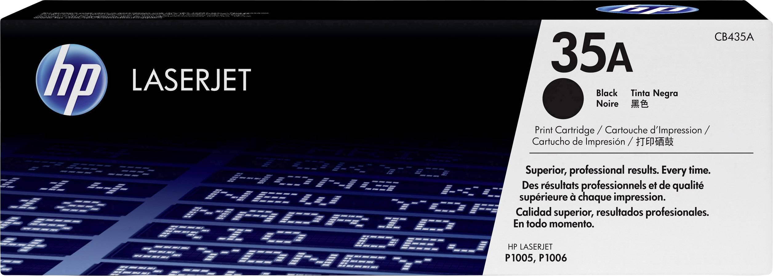 Toner HP 35A CB435A, černá