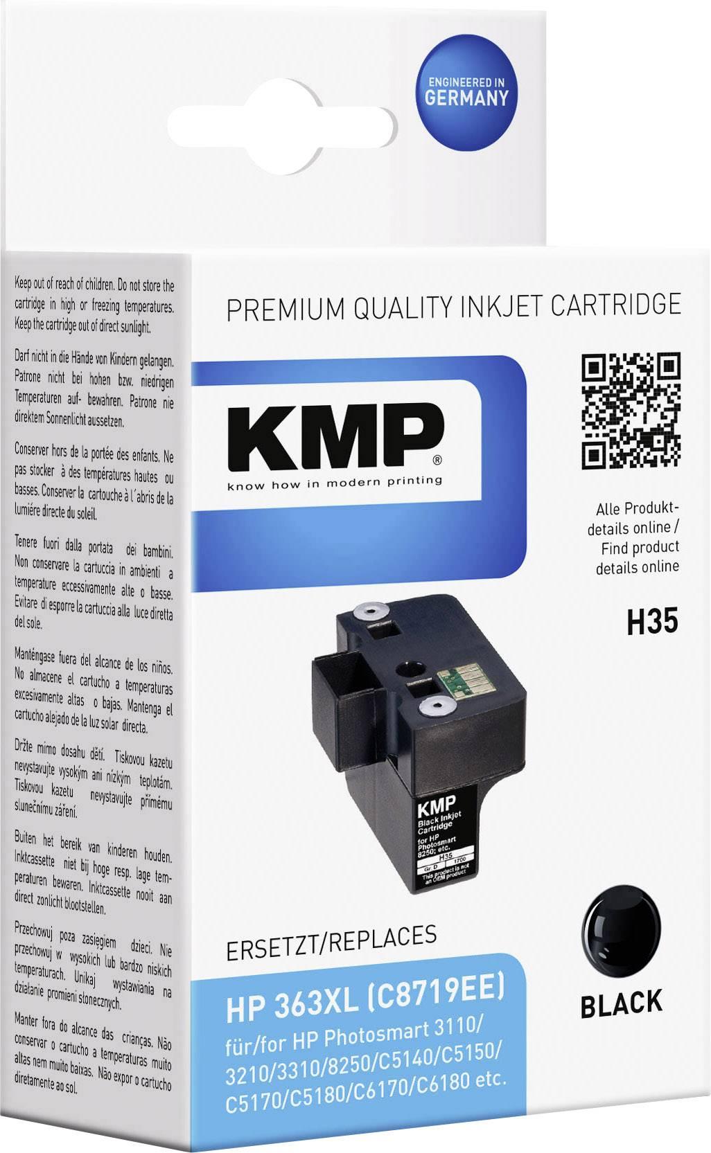 Toner inject KMP H35 = HP C8719EE (363) černá