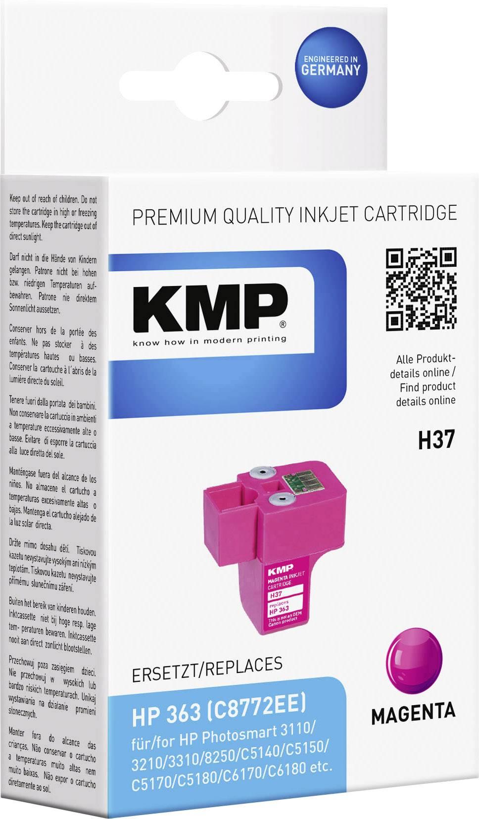 Toner inject KMP H37 = HP C8772EE (363) magenta