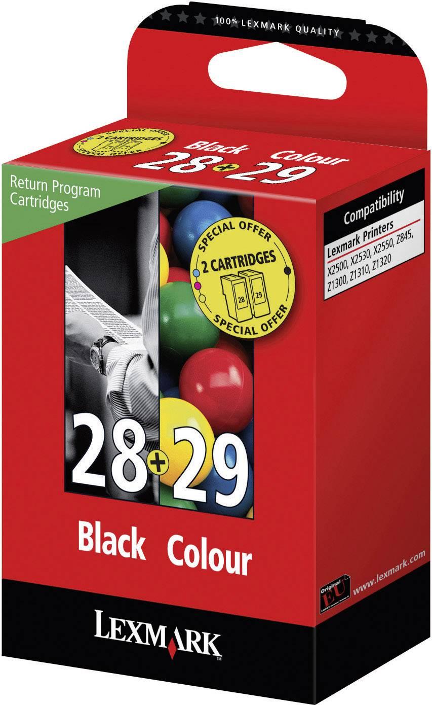 Sada náplní do tlačiarne Lexmark 28, 29 18C1520, čierna, zelenomodrá, purpurová, žltá