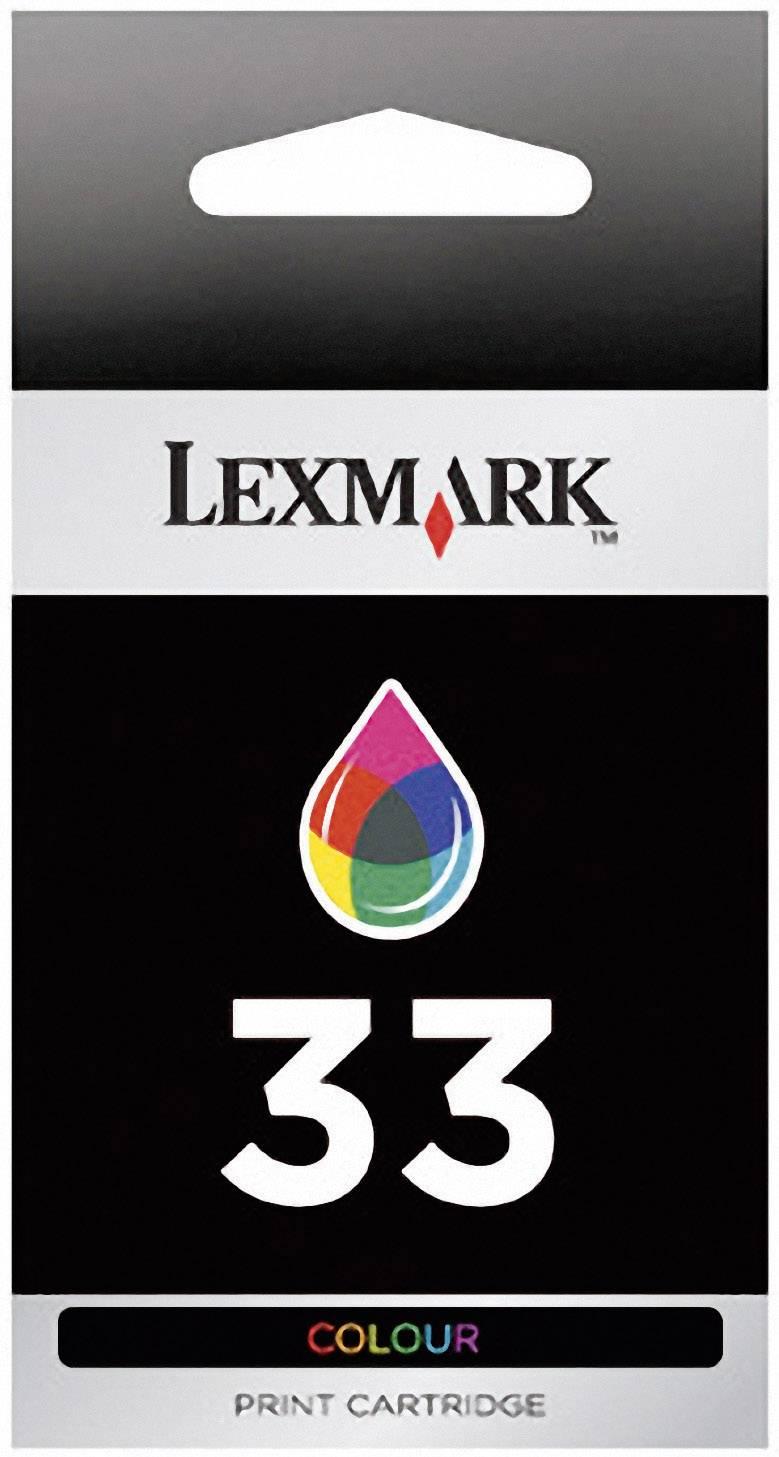 Náplň do tlačiarne Lexmark 33 18CX033, zelenomodrá, purpurová, žltá
