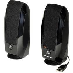 PC reproduktory Logitech S-150, kabelový, 1.2 W, černá
