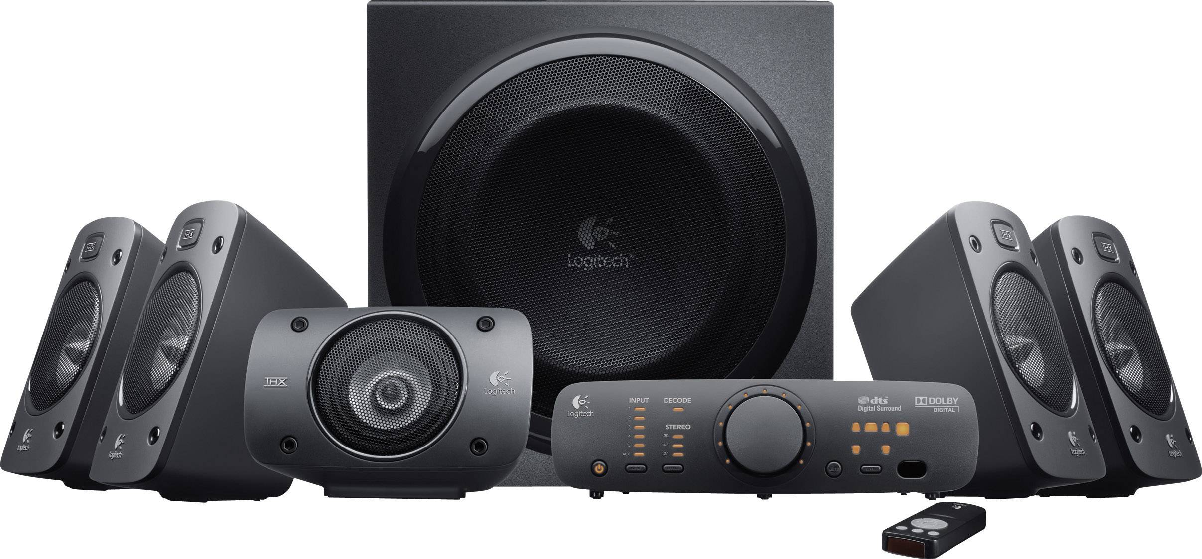 Reproduktory Logitech Z906 Surround 5.1