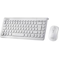 Sada klávesnice a myše Perixx Periduo-707 Plus W, bílá