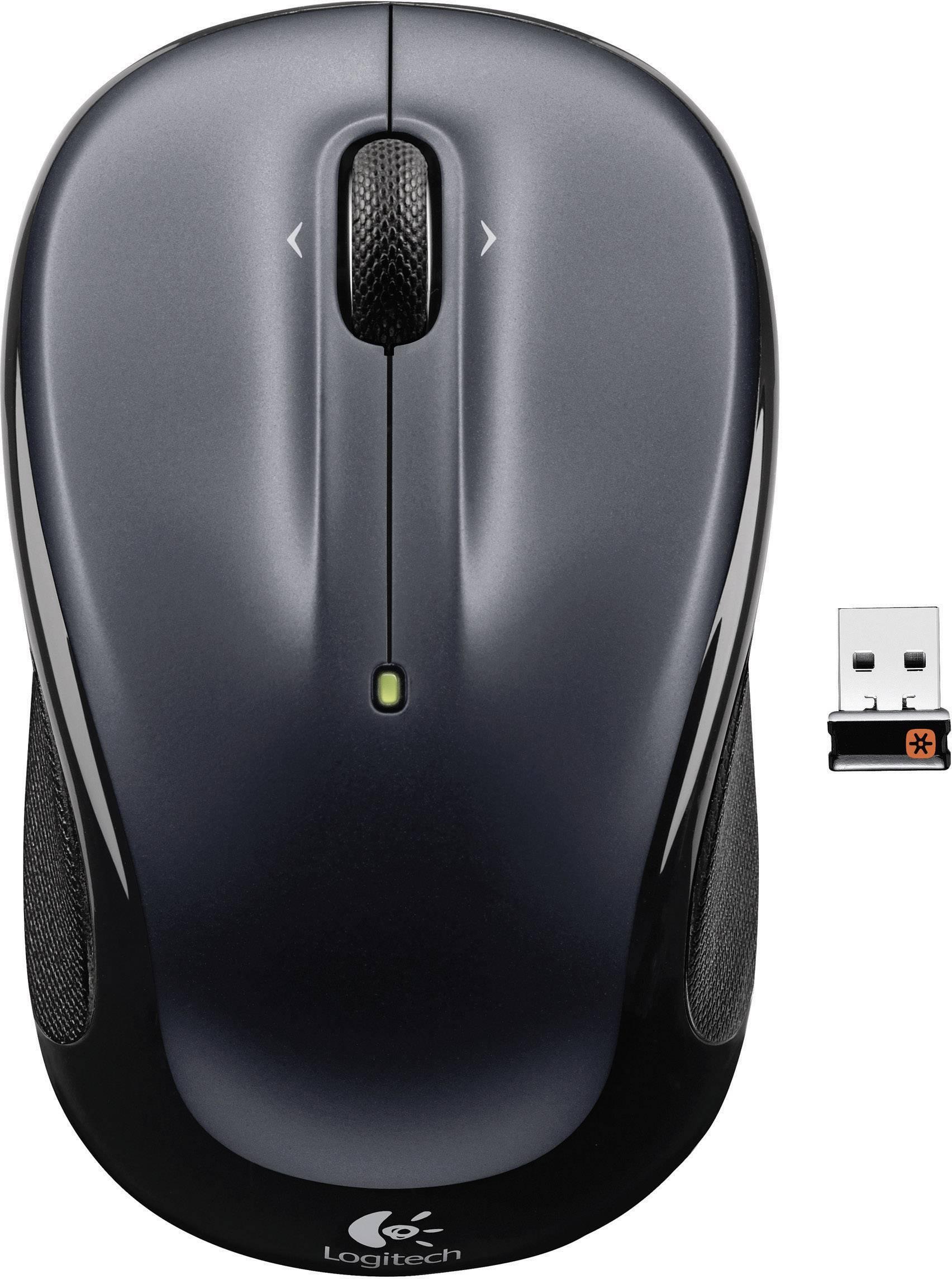 Optická bezdrôtová myš Logitech M325 910-002142, čierna