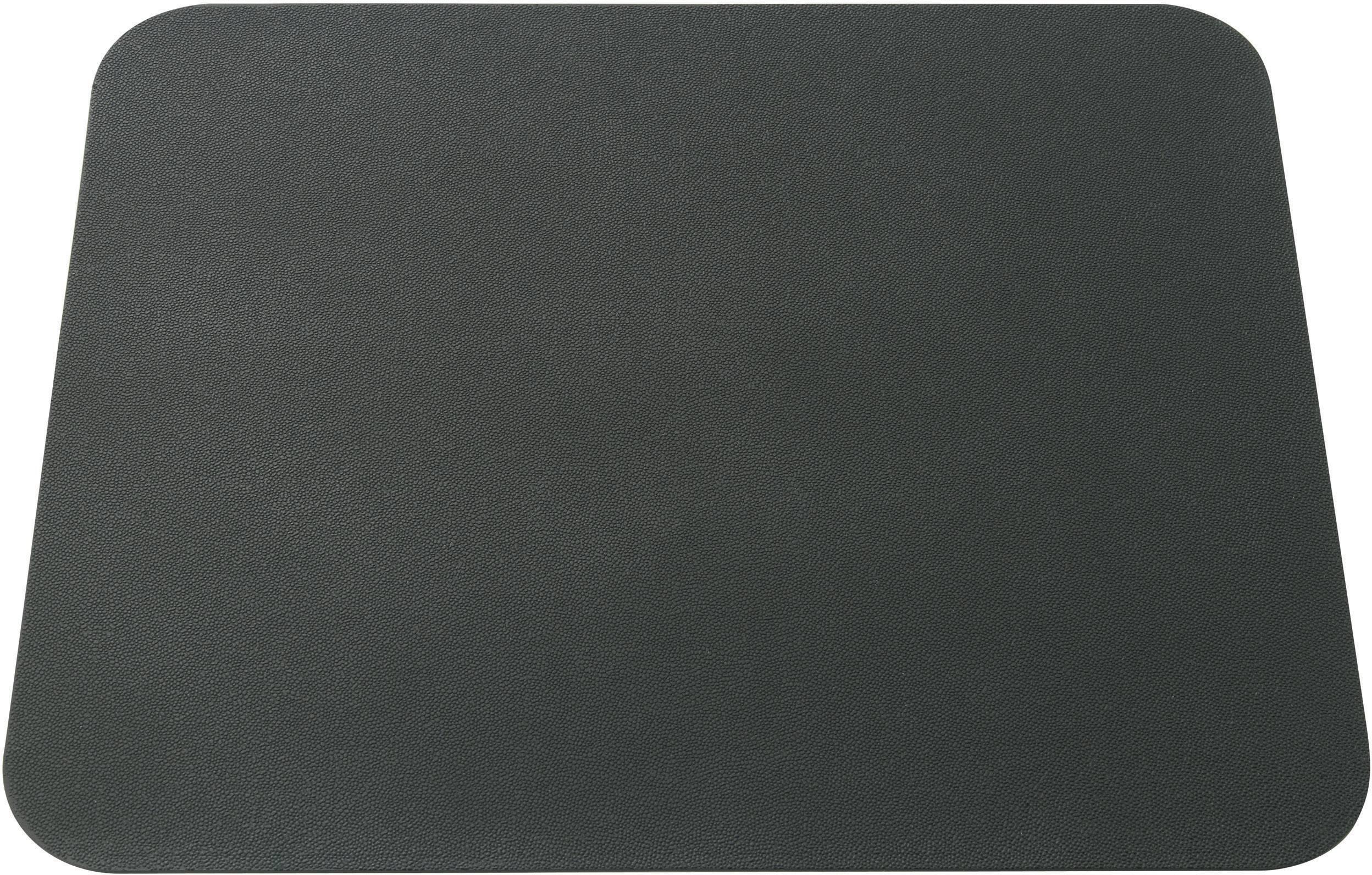 Podložka pod myš Basetech Ultra-Thin, 177 x 213 x 1.25 , čierna