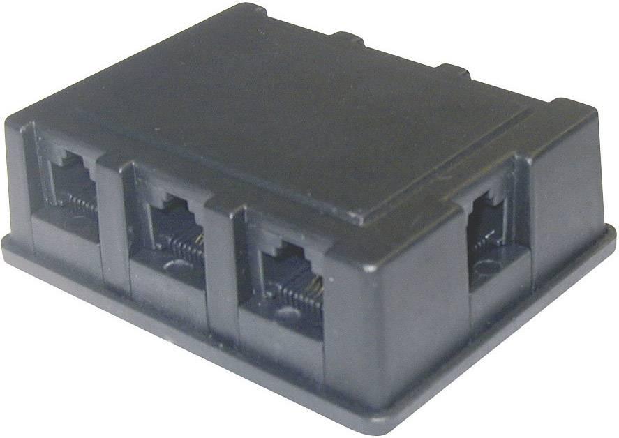 RJ45 Y adaptér 102IT-922296-BP, černá