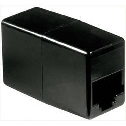 RJ45 adaptér Basetech BT-1602088, 0 m, černá