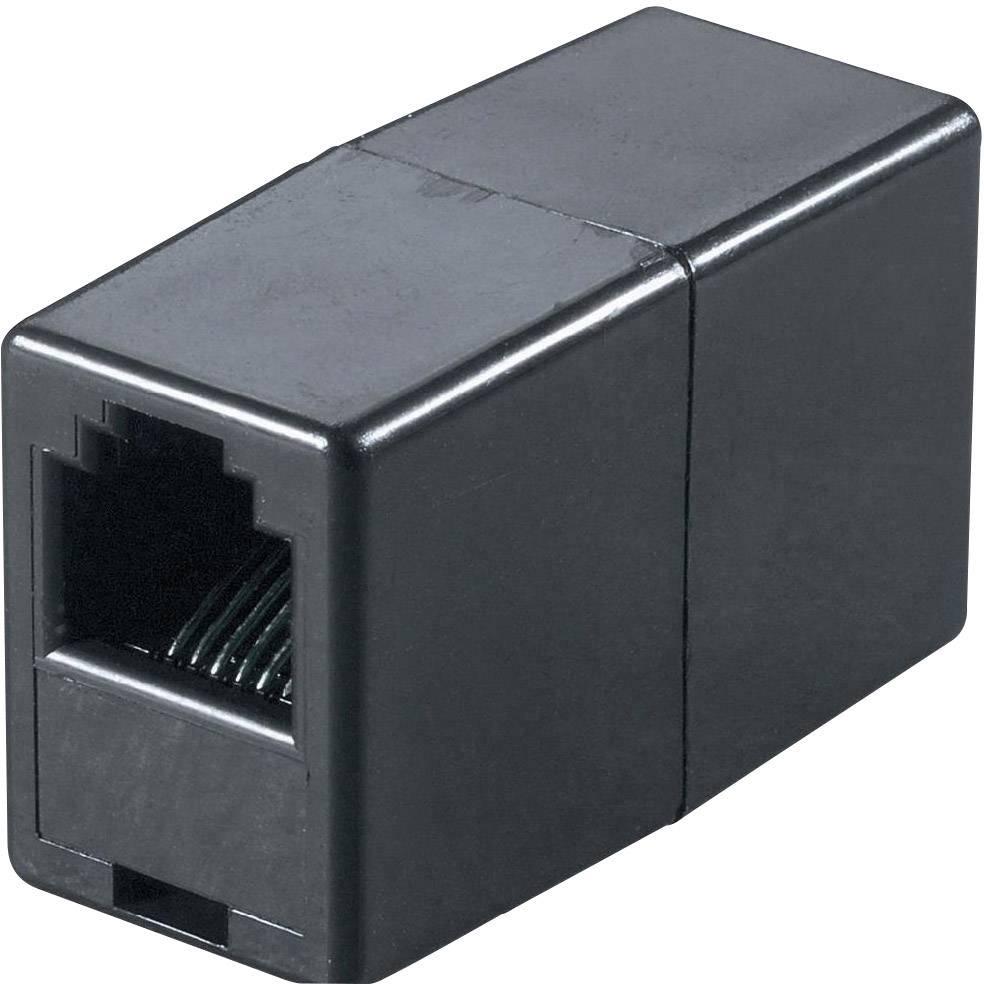 Western adaptér [1x RJ11 zásuvka 6p4c - 1x RJ11 zásuvka 6p4c] 0 m černá Basetech