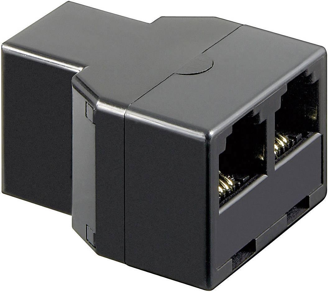 RJ11 adaptér 922726, 0 m, čierna